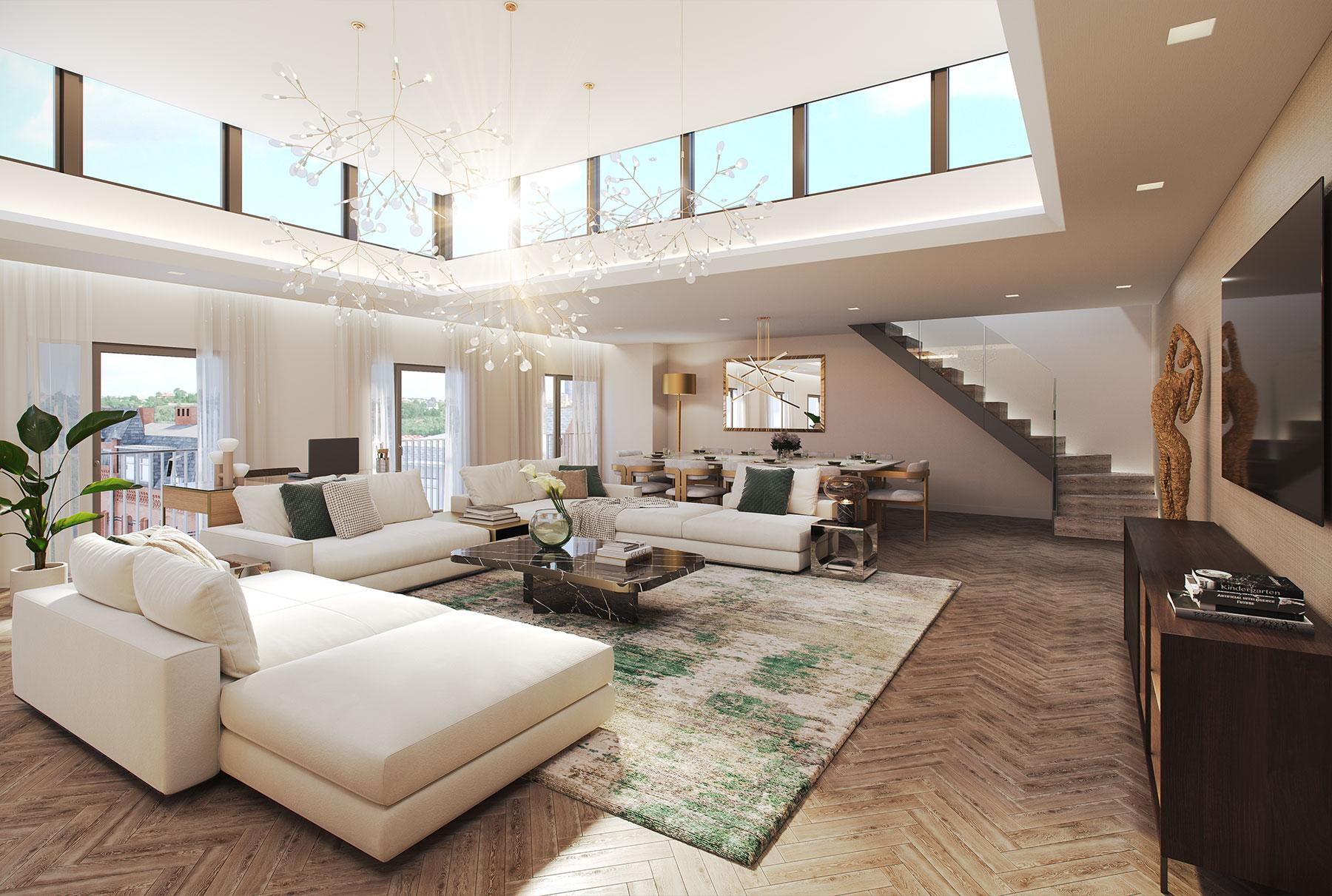 Elegant & Pristine Penthouse