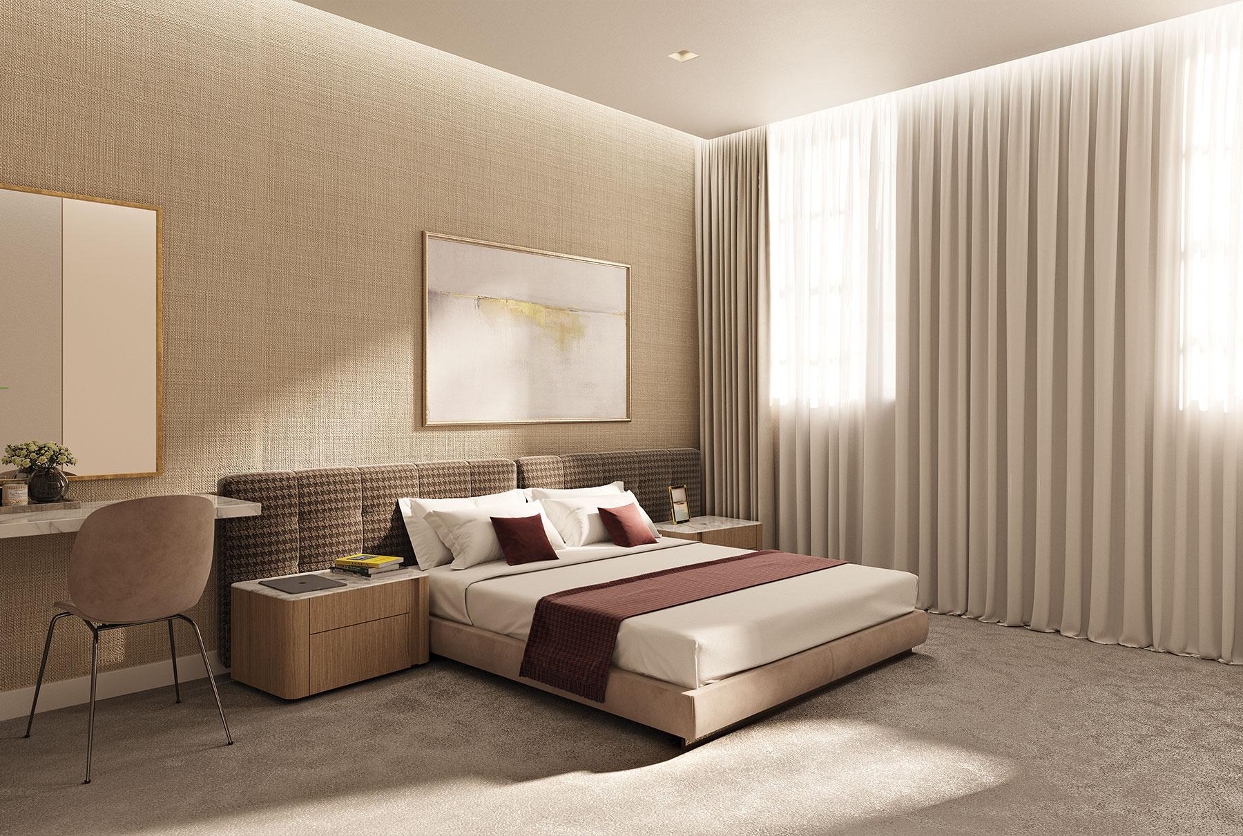 Lavish Bedroom Spaces