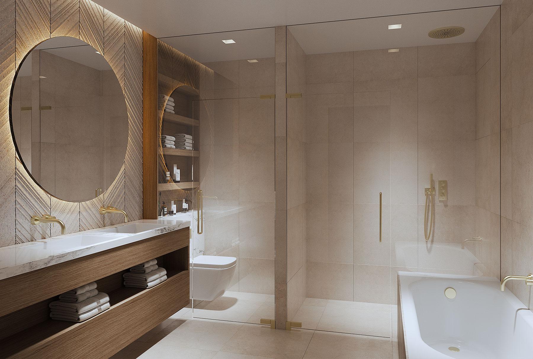 Impeccable Porcelain Bathroom Fittings